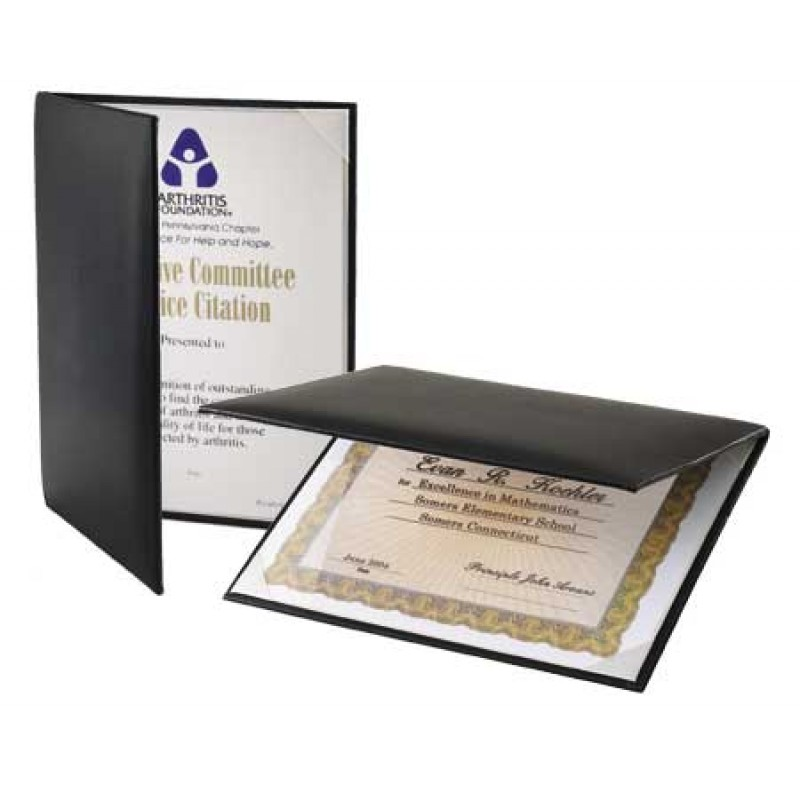 Certificate Padded Certificate Holder Z10 B Blue